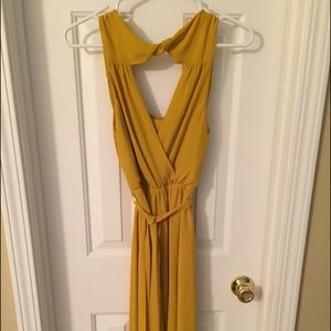 Express Dresses - Mustard Express dress