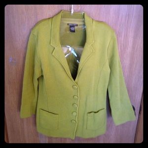 Audrey & Grace  Jackets & Blazers - Green jacket!