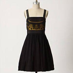 Anthropologie Floreat Cloaked Vista Dress