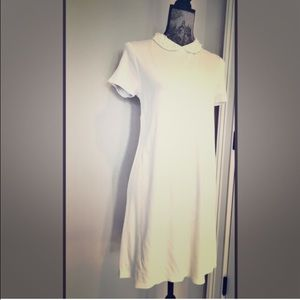 H&M Dresses & Skirts - Pearl-collared tshirt dress 🦄 GREAT FOR SUMMER 🌞