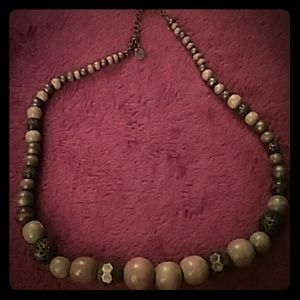 Jewelry - Wood bead necklace