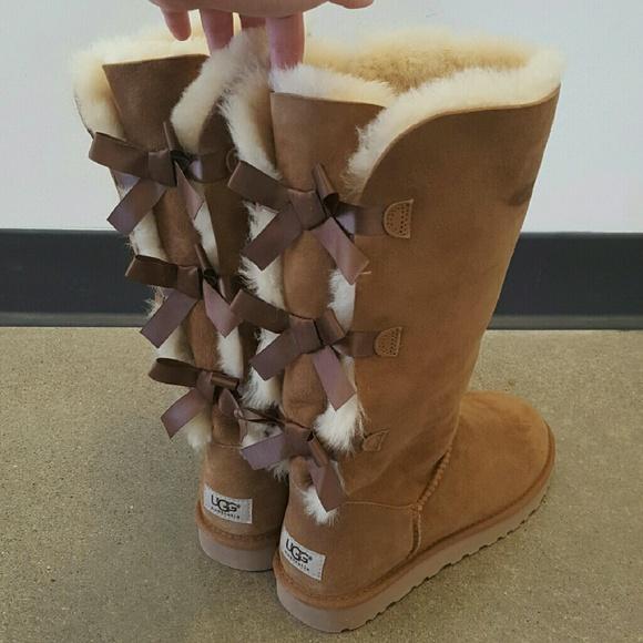 807b0c32791 New Ugg Bailey Bow Tall boot