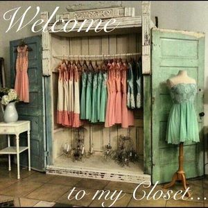 Thank you for checking out my closet!!!!