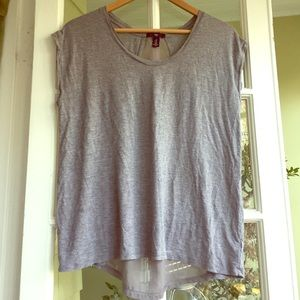 Gap Sheer Back Tee