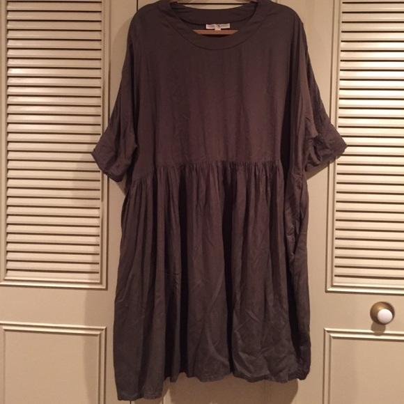 264ffd3f7fd7 Mimu Maxi Smock Dress. M_56f9dec04127d0ec170062a1
