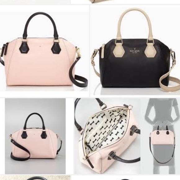 77% off kate spade Handbags - Kate spade New York blush pink ...