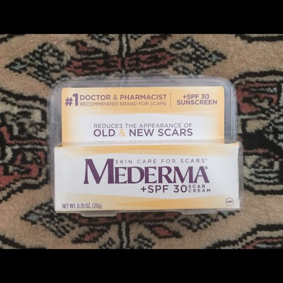 Other New Sealed Mederma Scar Cream Plus Spf 30 20 G Poshmark