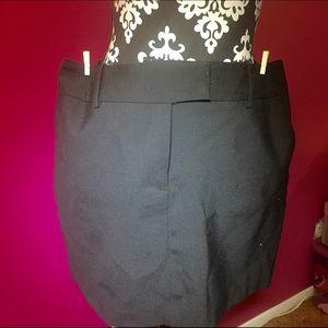 Express black mini skirt 11/12