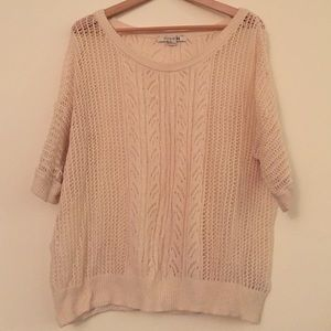 Forever 21 crocheted sweater