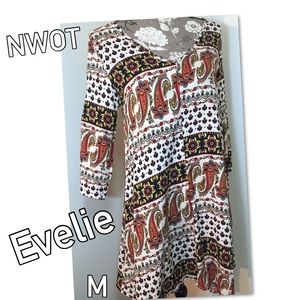 Evelie Dresses & Skirts - 🎈Closet Clear Sale🎈NEW! Evelie boho dress M NWOT