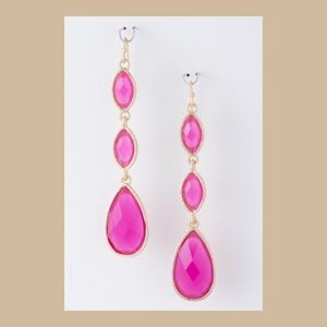 Jewelry - NWT Jewel Drop Earrings