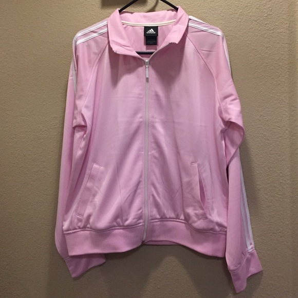 19c0e6f04ea5 Adidas Jackets   Blazers - Light Pink Adidas Track Suit