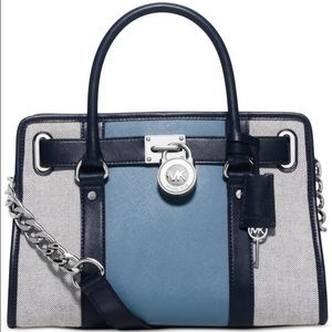Brand New Michael Kors Colorblock Hamilton EW