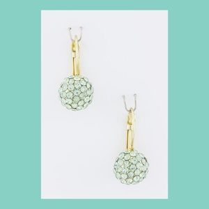 Jewelry - NWT Crystal Ball Earrings