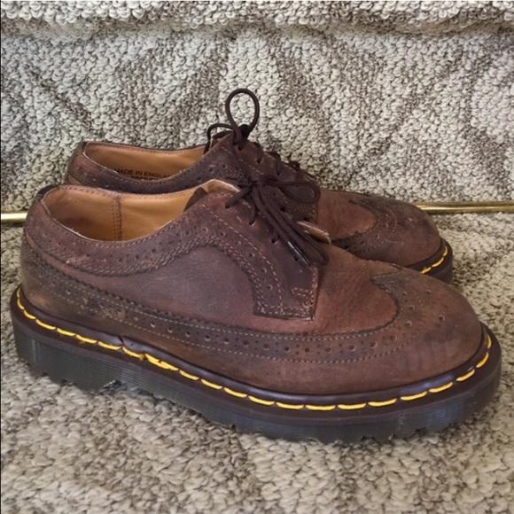 1b9164f85d6 Dr. Martens Shoes - Dr.martens wingtip Oxford brown UK size 4 US 6