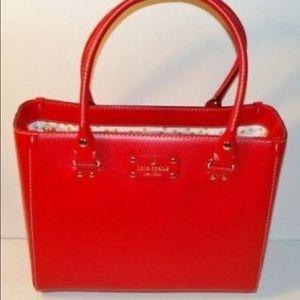 Red Kate Spade Wellesley bag