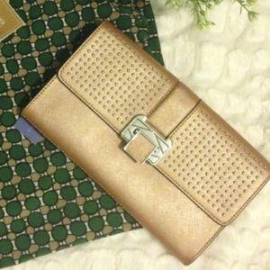 Rebecca Minkoff Handbags - Rebecca Minkoff Rose Gold Clutch ❣