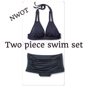 Mossimo Other - NWOT SMALL two piece swim wear