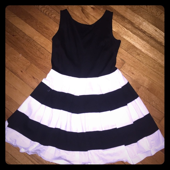 a149bf7d845555 jcpenney Dresses   Skirts - Sleeveless black   white striped dress