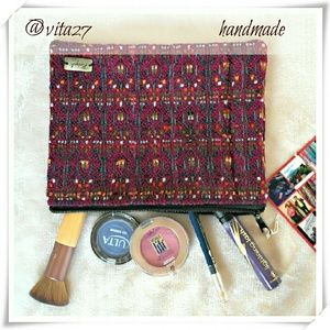 Ketzali Handbags - 👜 Handmade makeup bag, pouch, clutch, purse.