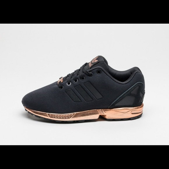 adidas sold adidas zx flux black and rose gold from. Black Bedroom Furniture Sets. Home Design Ideas