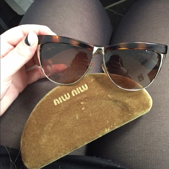 2913f25c3a55 Miu Miu Sunglasses SMU11L 100% Authentic!! M 56fa92a43c6f9f485800262b.  Other Accessories ...