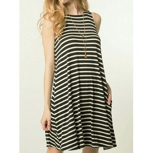 😎LAST ONE! Striped Swing Dress