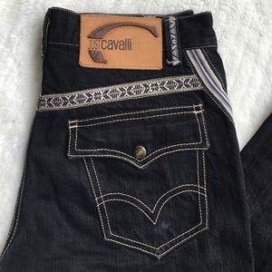 """Just Cavalli Denim - Just Cavalli Dark Capri Pants Size 26x23.5"""""""