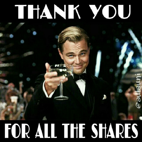 Other - Thank you for the shares! ❤