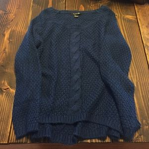 NEW YEARSlouchy Forever 21 sweater