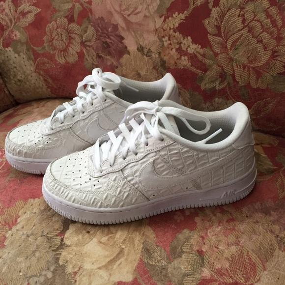 huge discount cd577 9bb4e Gator skin White Nike Air Force 1. M 56faa72c78b31c9e56004323