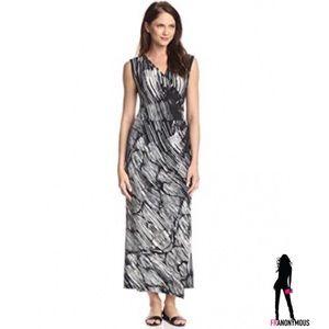 Melissa Masse Dresses & Skirts - Melissa Masse Sleeveless Wrap Maxi Dress XL