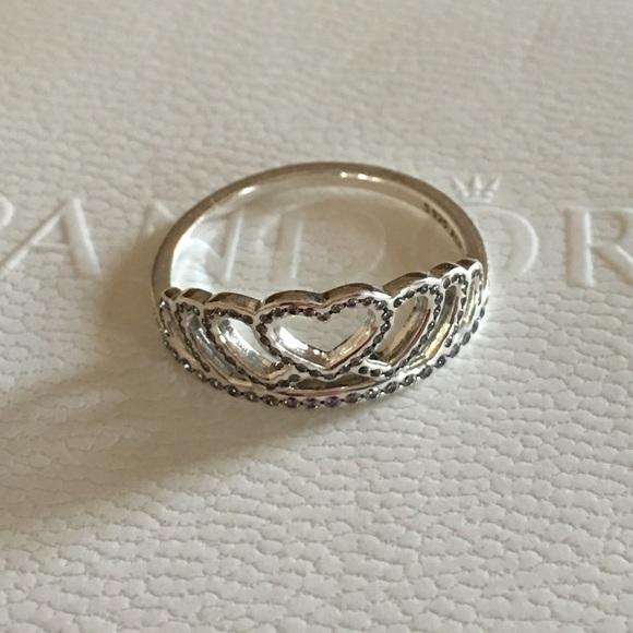 260f45dd276 PANDORA HEARTS TIARA RING. M_56faad97713fdee5bc01aa73