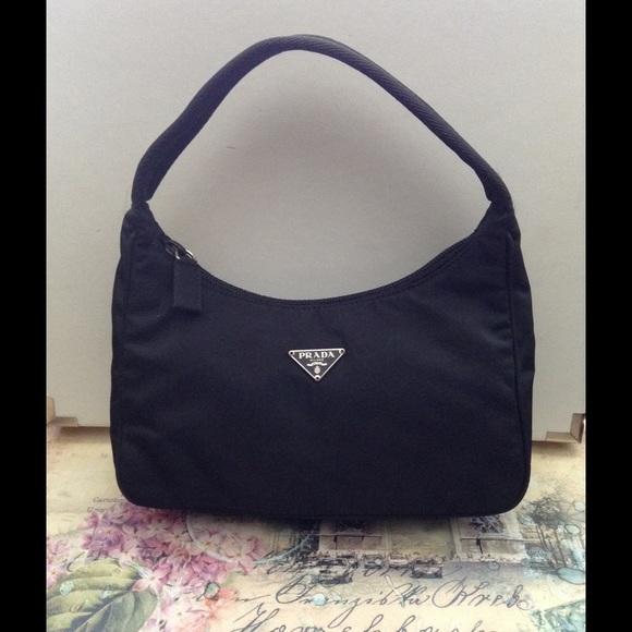 Prada Bags   Authentic Tessuto Nylon Mini   Poshmark 600a63feb7