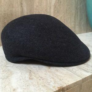 Wool Cabbie flat cap