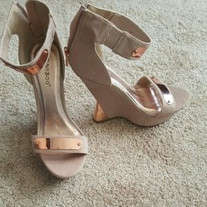Bamboo Wedge Sandals