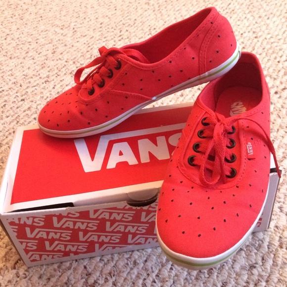 best place exclusive range best selling Vans cedar watermelon sneakers