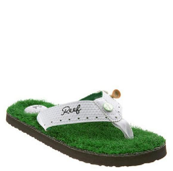 SALE! Reef Golf Flip Flops b2b7d8460fbe