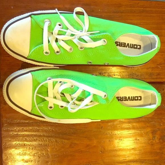 0a0769dcfcac Converse Shoes - Fluorescent green Converse
