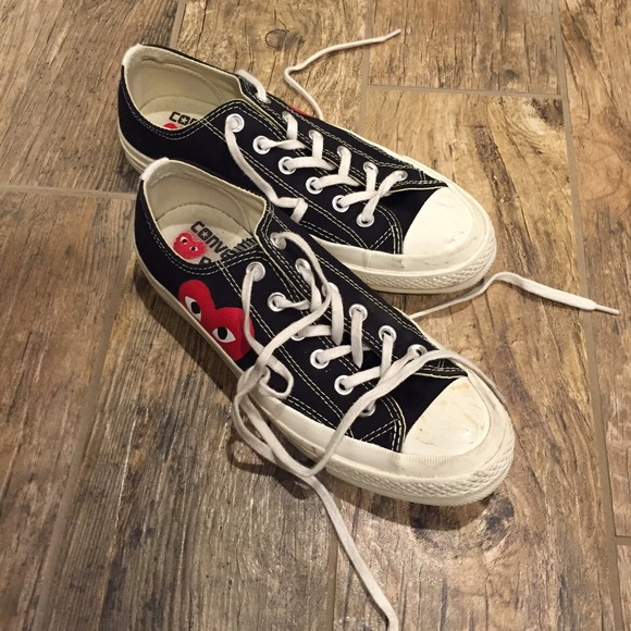 cdg converse mens size 12