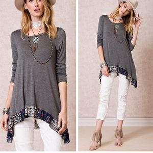 •boho patterned tunic•