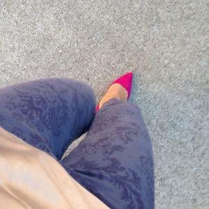 J BRAND Baroque Print Jeans
