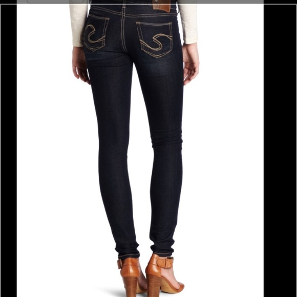 59% off Silver Jeans Denim - Silver Jeans Suki Jegging from Gena&39s