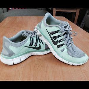 2380d907cdf7 Nike Free 20 Running Dark gray sky blue