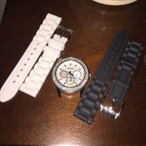 Mens Watch Straps: Shop Watch Straps for Men - Fossil