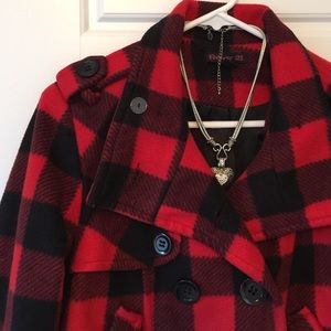 FOREVER 21 Soft Plaid Coat❄️