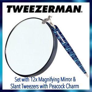 Tweezerman Tweezerman Peacock Tweezers Amp Mirror From