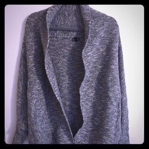 EXPRESS gray chunky sweater