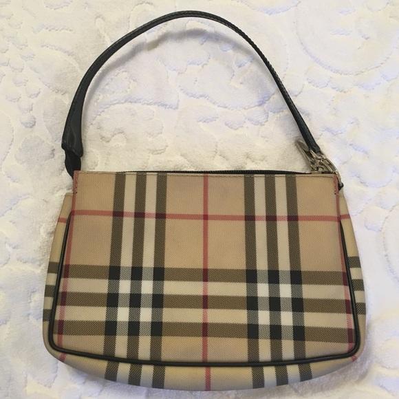 cf3a745b17d7 Burberry Handbags - Authentic Burberry Nova Check Pochette