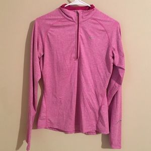 50 off nike tops nwot blue and pink nike pro pullover from taylor 39 s closet on poshmark. Black Bedroom Furniture Sets. Home Design Ideas